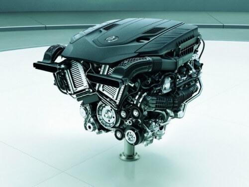 メルセデス・ベンツ Sクラス 4.0L V型8気筒直噴ツインターボエンジン