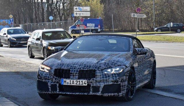 BMW 新型M8カブリオレ