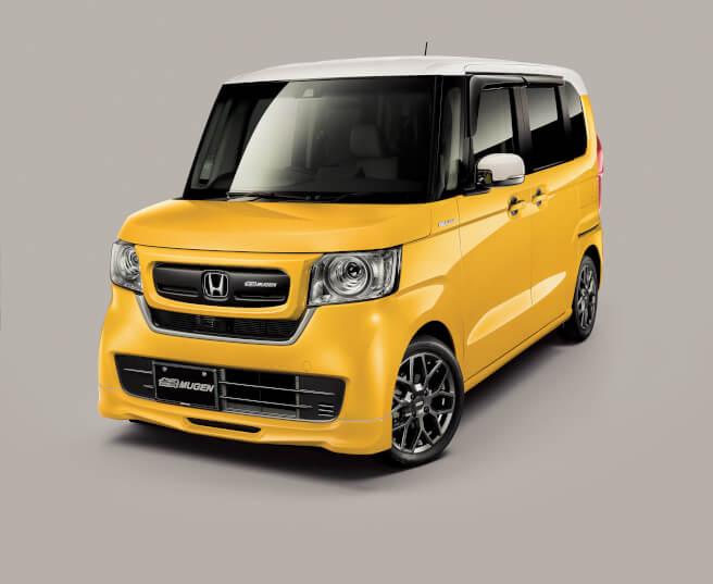 ホンダ N-BOX 無限フロントスポーツグリル:フロントアンダースポイラー