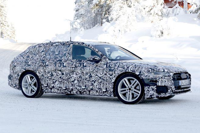 アウディ新型S6アバント スパイショット 2018年