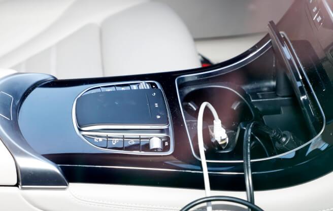 メルセデス・ベンツ 新型 GLC プロトタイプ 内装 2018