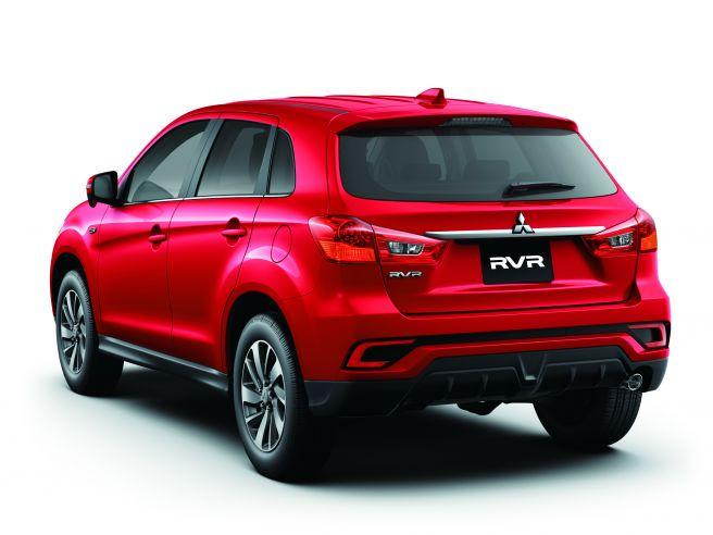 三菱 RVR G レッドメタリック 2017