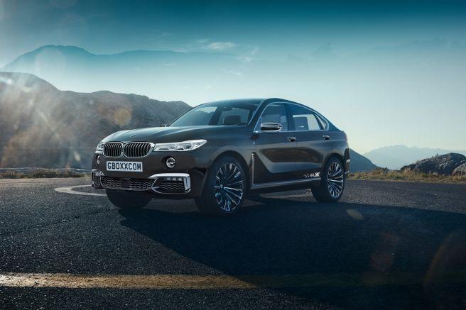 BMW X8 予想レンダリングCG