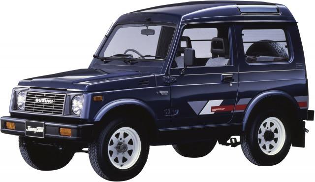 2代目ジムニー(JA51型)1984年