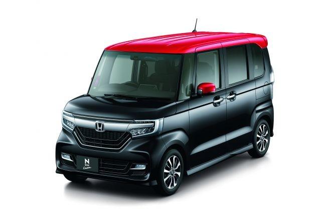 ホンダ N-BOX Custom G・L Honda SENSING 2017