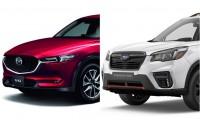 【スバル新型フォレスター vs マツダ CX-5】人気SUV徹底比較!