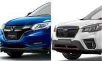【スバル新型フォレスター vs ホンダ ヴェゼル】人気SUV徹底比較!