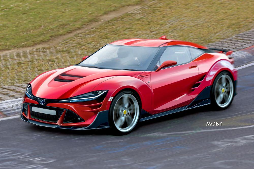 新型トヨタ86(ハチロク)スバルBRZ フルモデルチェンジ予想レンダリングCG