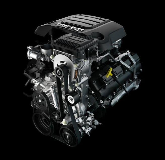 RAM1500 5.7L V8エンジン 2019