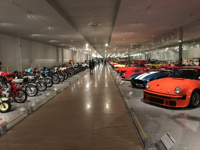 四国自動車博物館 内部
