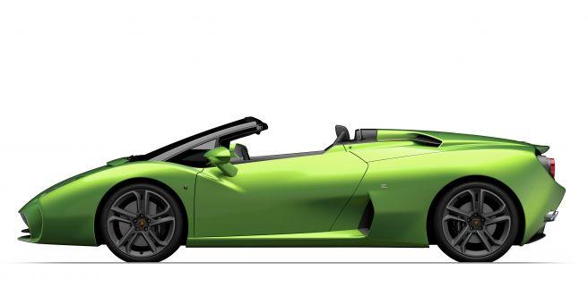 ランボルギーニ 新型L595 ザガート ロードスター
