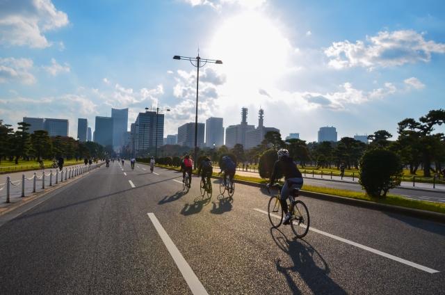 自転車サイクリング
