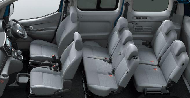 日産 e-NV200 ワゴン 内装 2018