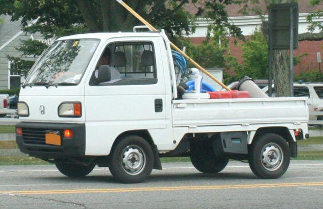 ホンダアクティ2代目トラック