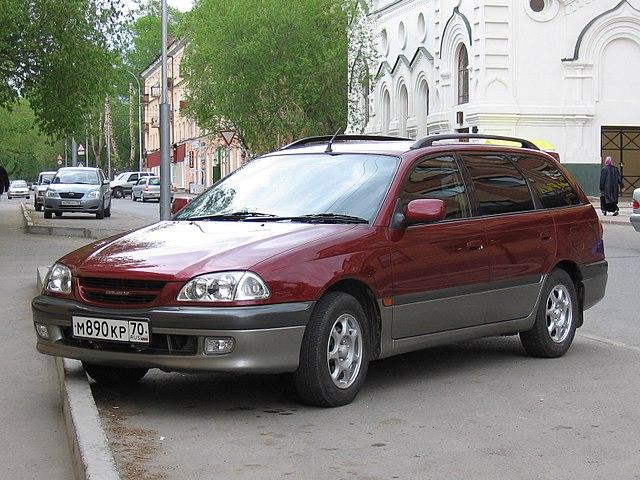 トヨタ カルディナ 2代目