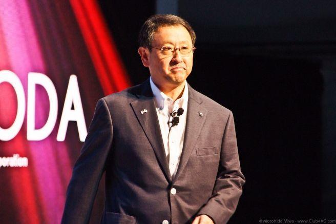 豊田章男 トヨタ自動車社長