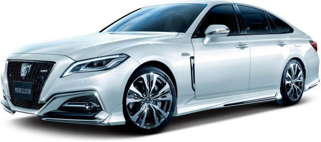 トヨタ クラウン S22型 モデリスタ スタイリング_フロント_RS