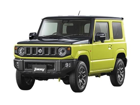 4代目新型ジムニー XC_キネティックイエロー ブラックトップ2トーン