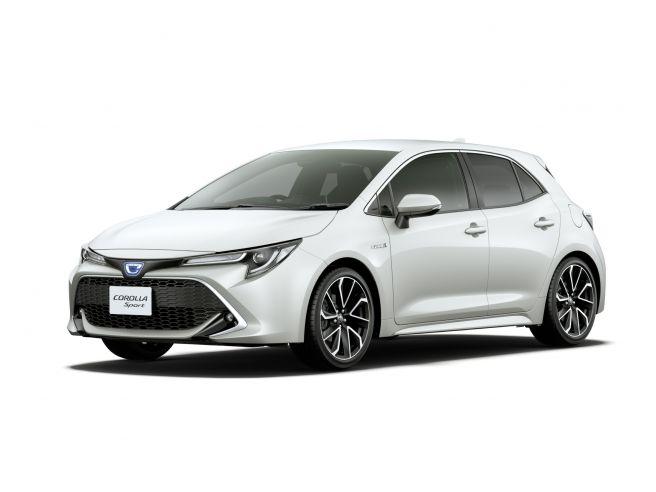 トヨタ 新型 カローラ スポーツ 2018 外装デザイン