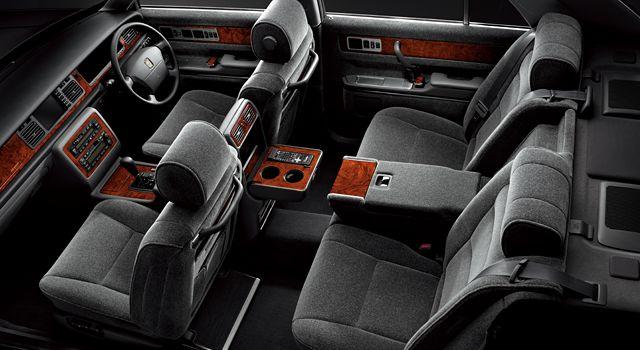 トヨタ センチュリー 2代目 内装