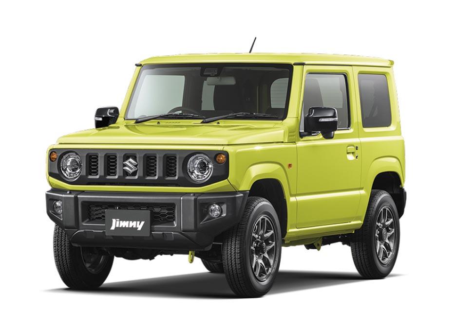 4代目新型ジムニー XC_キネティックイエロー