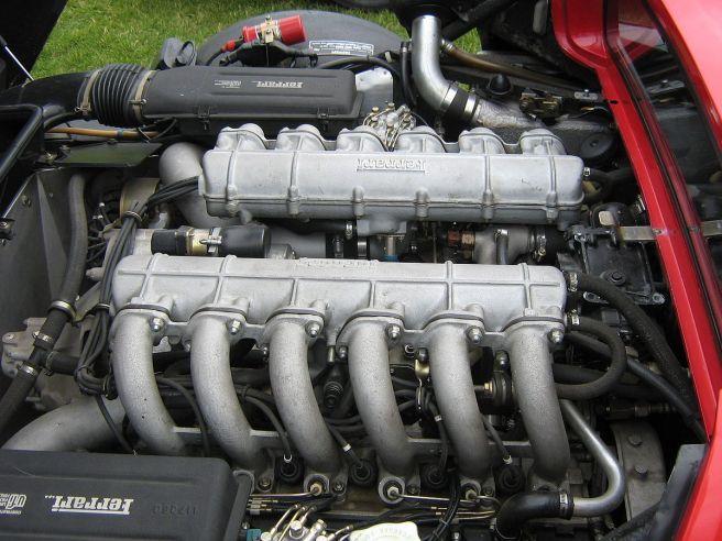 フェラーリ512BBi エンジン
