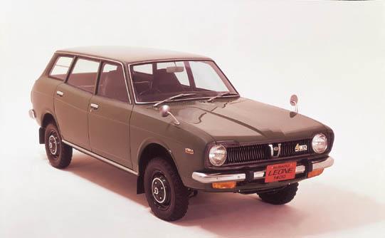 スバル レオーネ4WDエステートバン 1972年型