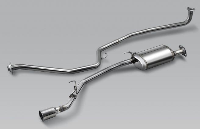無限カスタム 新型N-VAN スポーツエキゾースト-ターボ用
