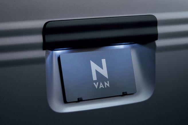 ホンダ N-VAN LEDライセンスランプ