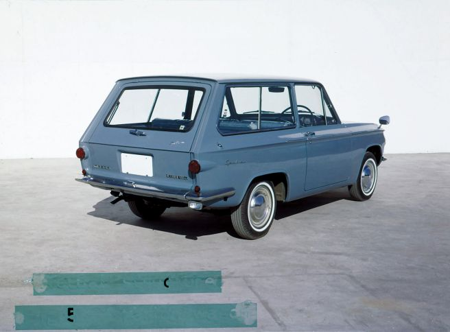 マツダ ファミリアバン800