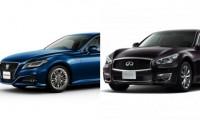 【トヨタ新型クラウン vs 日産フーガ 】国産高級セダンライバル車を徹底比較!