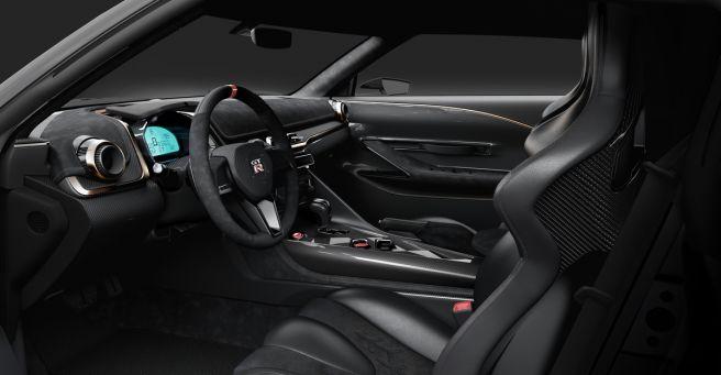 日産 GT-R50 イタルデザイン 内装