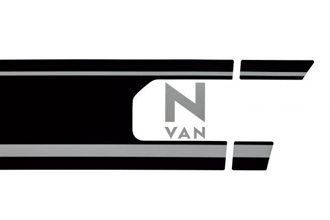 ホンダ N-VAN デカール ブラックライン調