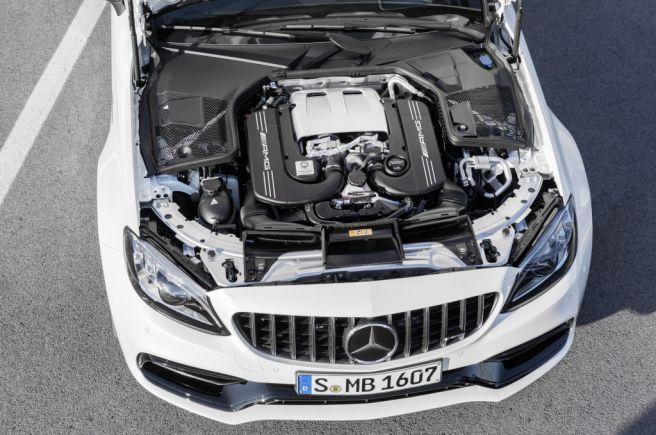 AMG C63S エンジン_2018