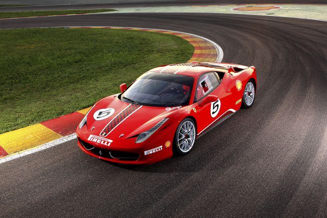 フェラーリ458チャレンジ_2011