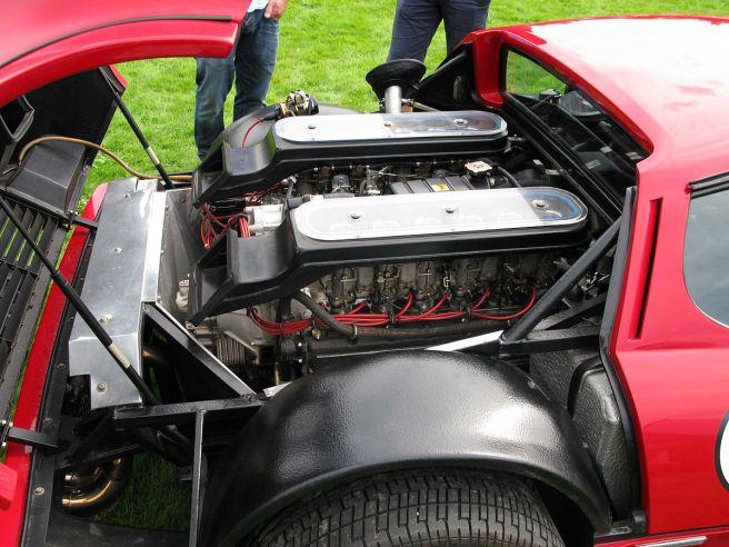 フェラーリ 512BBエンジン