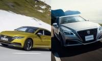 【トヨタ新型クラウン vs フォルクスワーゲン アルテオン】高級セダン徹底比較!