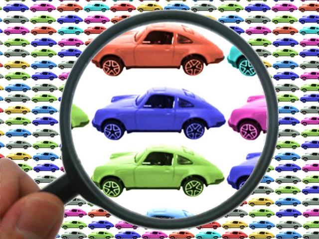 車選ぶイメージ