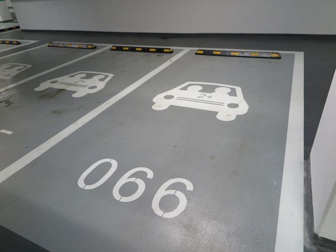 平地自走式駐車場 駐車場