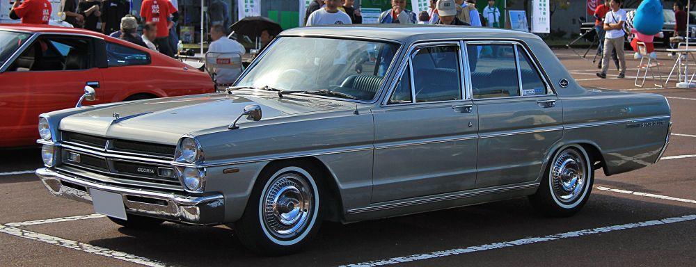 1970年式 日産 グロリア スーパーデラックス タテグロ