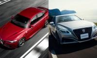 【トヨタ新型クラウン vs アルファロメオ ジュリア】イタリア車スポーツセダンと徹底比較