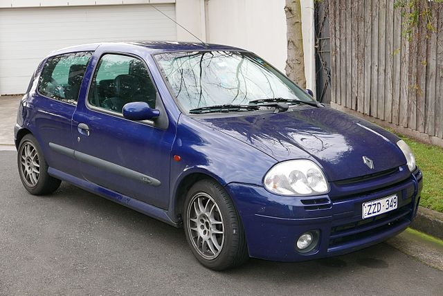 ルノー ルーテシアRS 2001年型