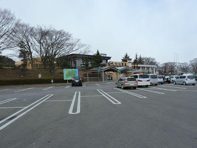 安達太良SA 福島県