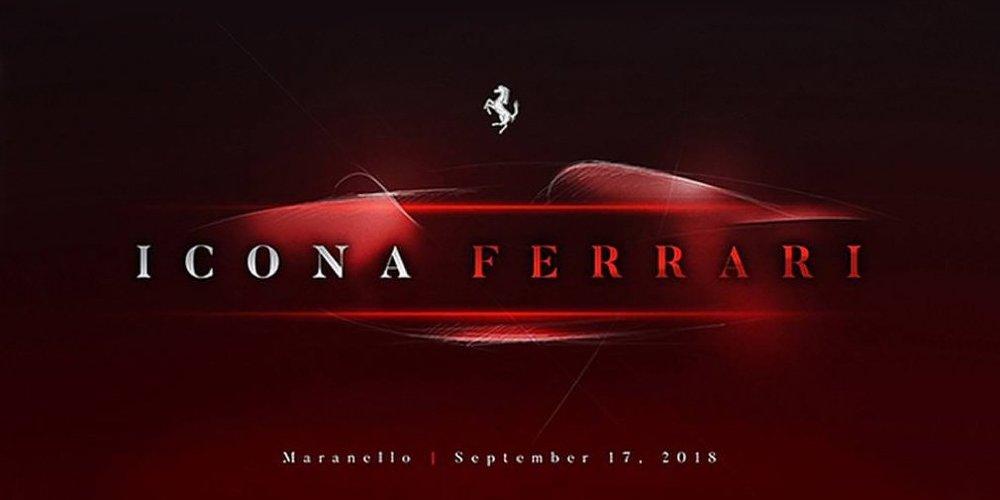 フェラーリ 新型車 ティザー画像