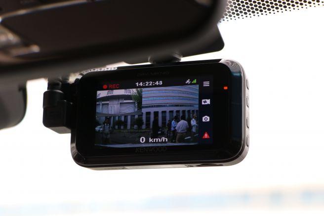 前後カメラドライブレコーダー KENWOOD DRV-MR740