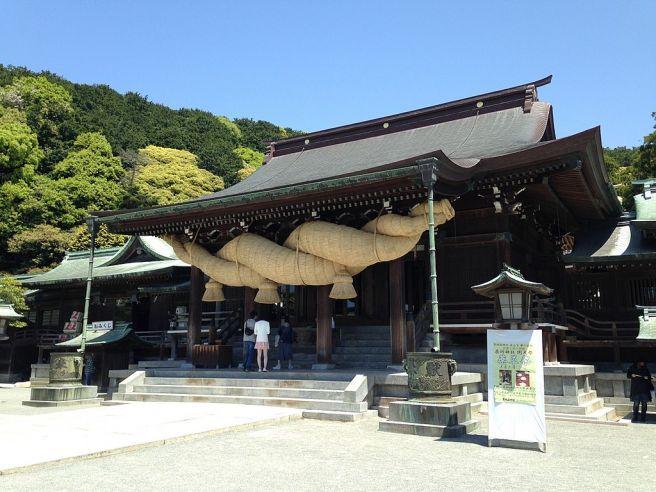 宮地嶽神社・拝殿