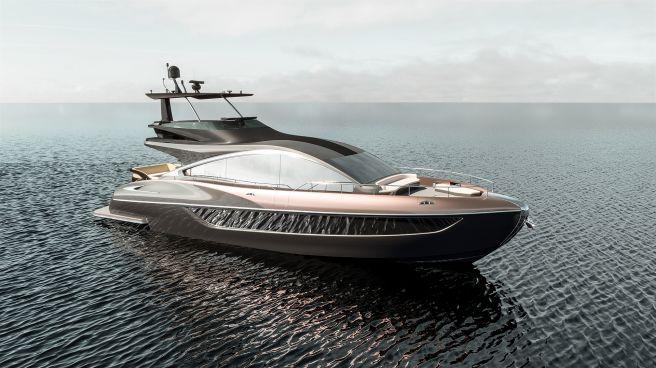 レクサス LY650(ラグジュアリーヨット)