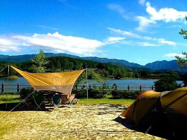 椛の湖(はなの湖)オートキャンプ場 岐阜県