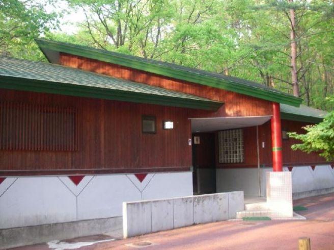 田沢湖キャンプ場 トイレ