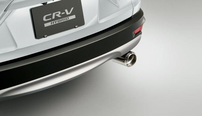 Modulo CR-V エキパイフィニッシャー